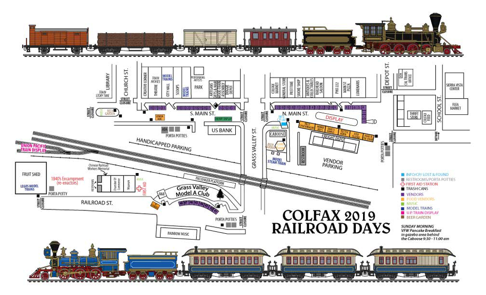 Colfax Railroad Days | Event Map