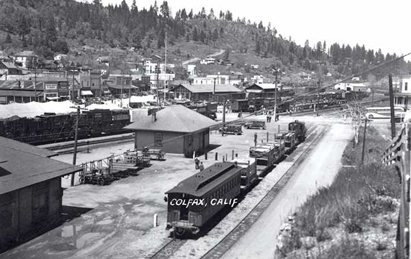 Colfax Southern Pacific Passenger Depot